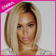 black at root of hair sexy dark roots blonde two tone color beyonce short bob style