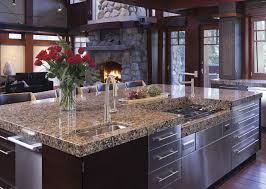 what color countertops go with brown cabinets 15 best quartz countertop ideas quartz countertops in