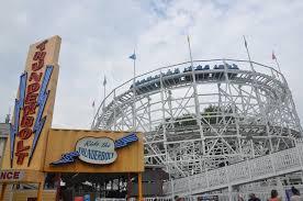 Six Flags Ma Thunderbolt Six Flags New England