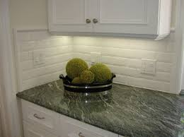 white kitchen with backsplash beveled tile beveled subway tile westside tile and stone