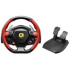 volante per xbox one thrustmaster volante pedali 458 spider per xbox one