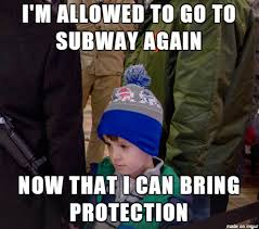 Subway Meme - texas open carry kid goes to subway meme on imgur