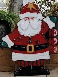 ho ho ho santa yard decoration wood sign