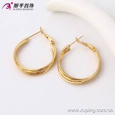 simple gold earrings simple gold earring designs for women simple gold earring designs