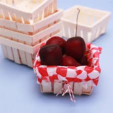 wooden party favors mini wooden basket favor 6 pcs unique wedding favor boxes