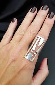 Initials Ring Initials Ring U0027jk U0027 Jude Karnon Jewellery