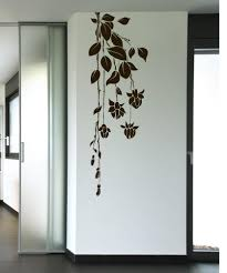 nature wall decals nature stickers for walls stickerbrand vinyl wall decal sticker hanging flowers 1016