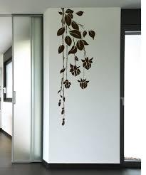large flower wall decals vinyl flower stickers stickerbrand vinyl wall decal sticker hanging flowers 1016