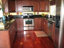 Kitchen Peninsula Cabinets Dark Kitchen Cabinets Wall Colors House Decorred Cherry Oak Red