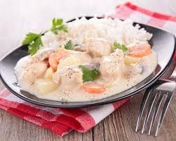 recette blanquette de veau riz et roux blond