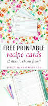 507 best printable recipe cards images on pinterest craft