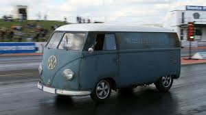 old rusty volkswagen 1953 vw bus breaks world record for fastest vw van