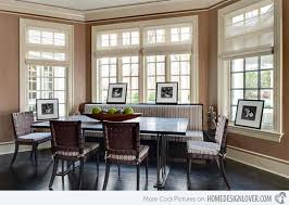 Ideas In Designing Dining Rooms With Bay Window Home Design Lover - Dining room windows