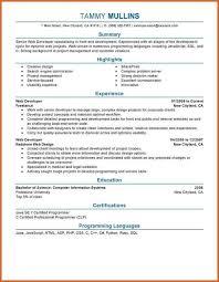 Php Developer Resume Front End Developer Resume Resume Name