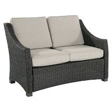 Patio Furniture Cushions Replacement by Loveseat Walmart Wicker Patio Loveseat Wicker Patio Furniture