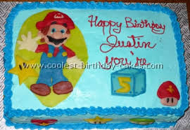 coolest super mario brother cakes on the web u0027s largest homemade