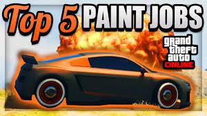 gta 5 top 5 paint jobs u0026 sick color schemes best rare paint