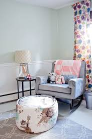 Blue Curtains For Nursery by Baby Nursery Lovable Decorations With Rocking Chairs For Baby
