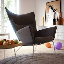 Ideas For Contemporary Credenza Design Funky Armchairs For Modern Interior Living Room With White