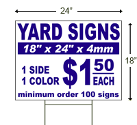 fastest custom yard signs lawn signs by sign depot at orlando florida