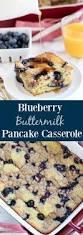 Blueberry Pancake Recipe Blueberry Buttermilk Pancake Casserole