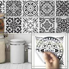 compare prices on tile sticker vintage online shopping buy low 10pcs set 20 20cm vintage self adhesive tile stickers pvc tile wall decals diy