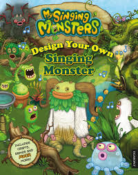 My Singing Monster Design Your Own Singing Monster My Singing Monsters Egmont Uk