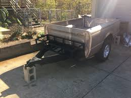 off road truck bed trailer build 1 youtube