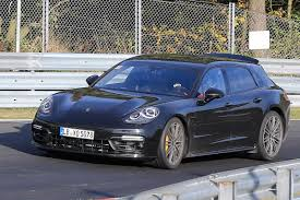 Porsche Panamera Sport - porsche panamera sport turismo spies pictures 1 auto express
