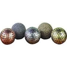 Decorative Spheres For Bowls Decorative Balls Accent Pieces Shop The Best Deals For Nov 2017