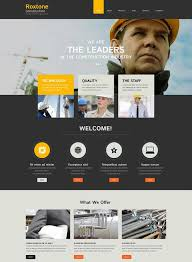 responsive web design layout template 70 best architecture construction website templates 2018