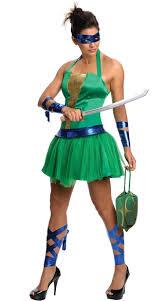 Blue Ninja Turtle Halloween Costume Female Leonardo Costume Female Tmnt Costume Teenage Mutant Ninja