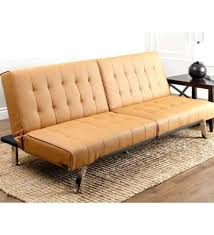 Futon Leather Sofa Bed Camel Leather Sofa Adrop Me