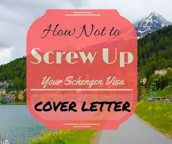 schengen visa cover letter format with sample and common mistakes