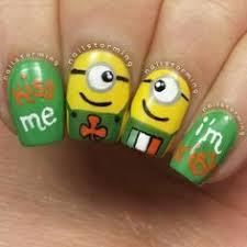 it s all about nails the minions nail nails nailart