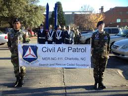 nc wing units perform in thanksgiving parade civil air patrol