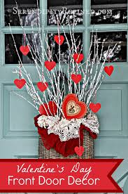 serendipity refined blog simple diy valentines day door decor