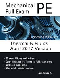 thermal u0026 fluids full exam april 2017 mechanical pe sample