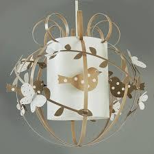 luminaire chambre bébé formidable chambre bebe beige et blanc 1 suspension oiseau