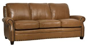 Genuine Leather Furniture Manufacturers Darby Home Co Hubbard Leather Sofa U0026 Reviews Wayfair