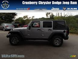 black jeep rubicon 2014 jeep wrangler unlimited rubicon 4x4 in billet silver metallic