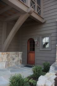 exterior paint colors exterior rustic with flagstone path timber