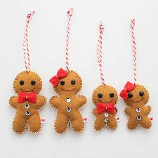 gingerbread family gingerbread felting and