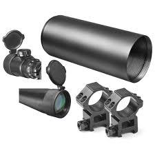 amazon com barska 10 40x50 ir swat extreme tactical 30mm