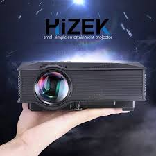 hizek mp1 mini portable wifi wireless video led projector 1200