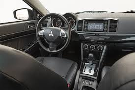 Lancer Sportback Interior 2017 Mitsubishi Lancer 2 4 Awd First Test Review