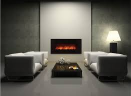wall mounted electric fireplaces modern blaze