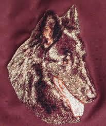 belgian sheepdog uk embroidered ladies fleece jacket belgian sheepdog dle1481 sizes