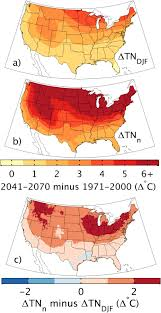Usda Zone Map Projected Changes In Cold Hardiness Zones And Suitable Overwinter