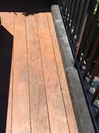 Patio Paint Designs Diy Painted My Outdoor Deck Railings Black Noznoznoz